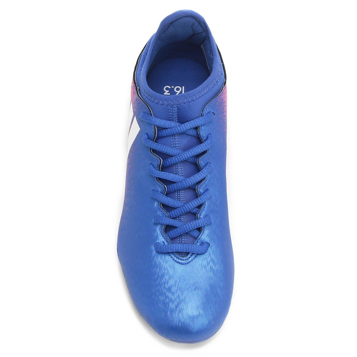 6897284067 Chuteira Campo Adidas X 16.3 FG Masculina - Compre Agora