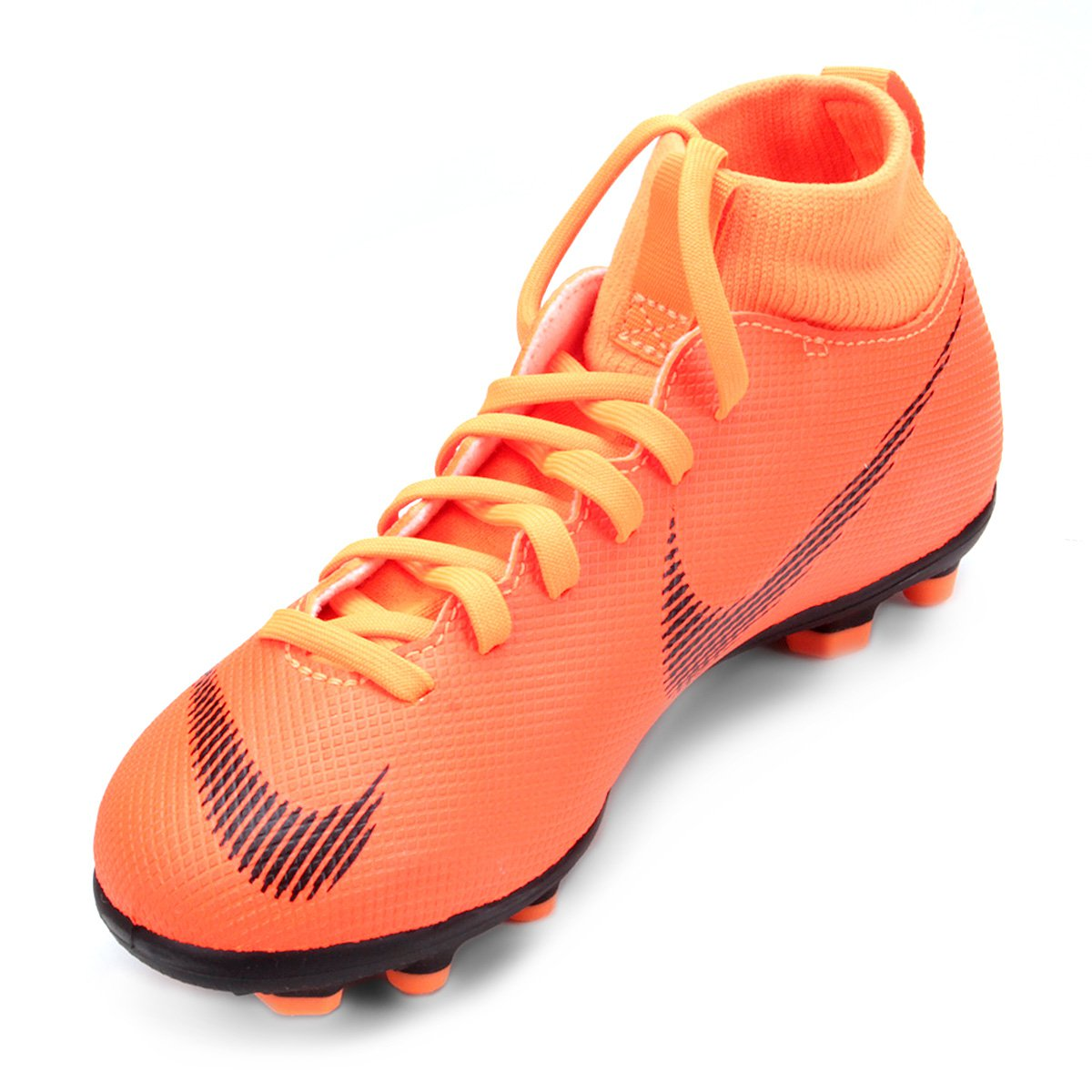 Chuteira Campo Infantil Nike Mercurial Superfly 6 Club - Compre ... 2da5071b4457d