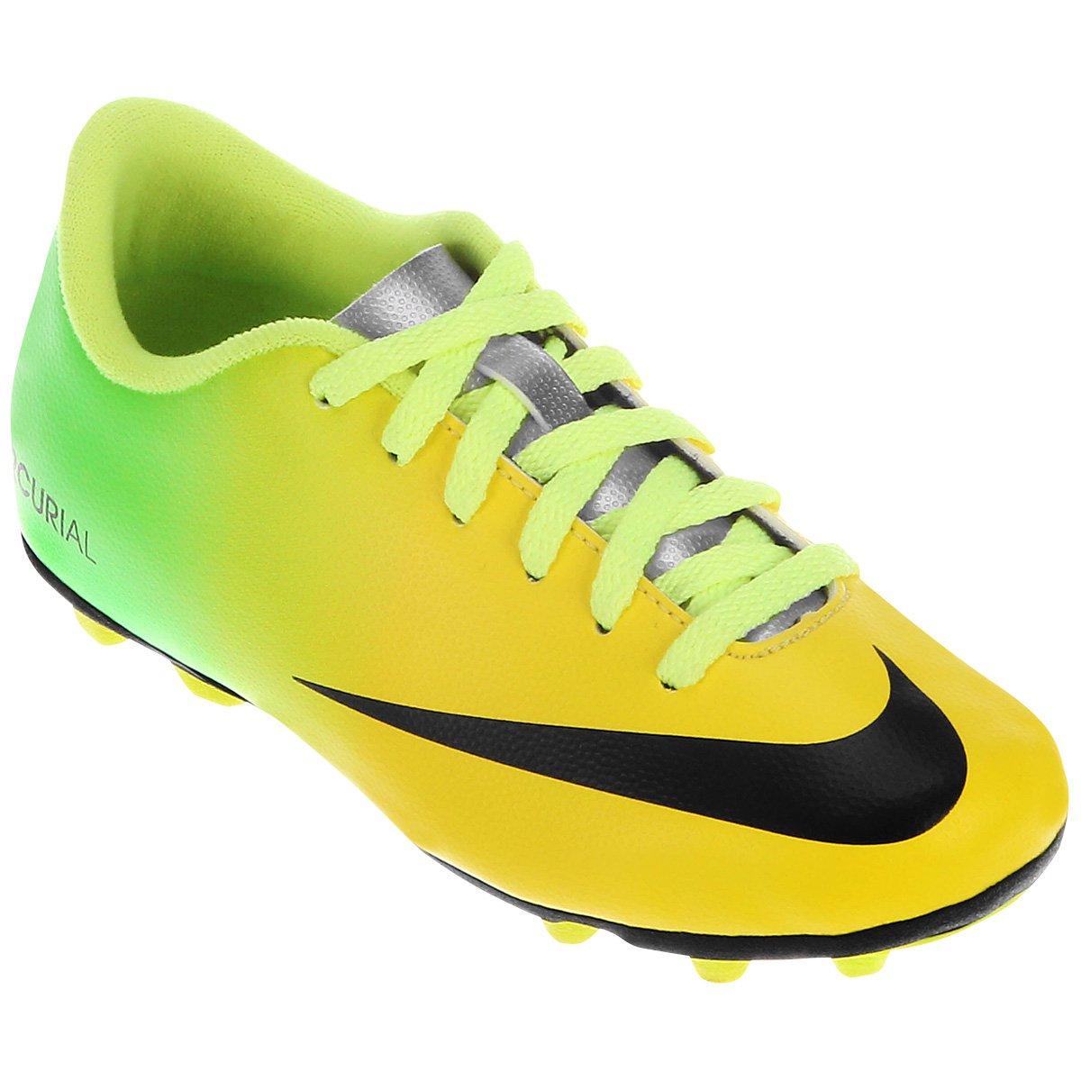 3a07d2ae8a Chuteira Campo Infantil Nike Mercurial Vortex FG-R - Compre Agora ...