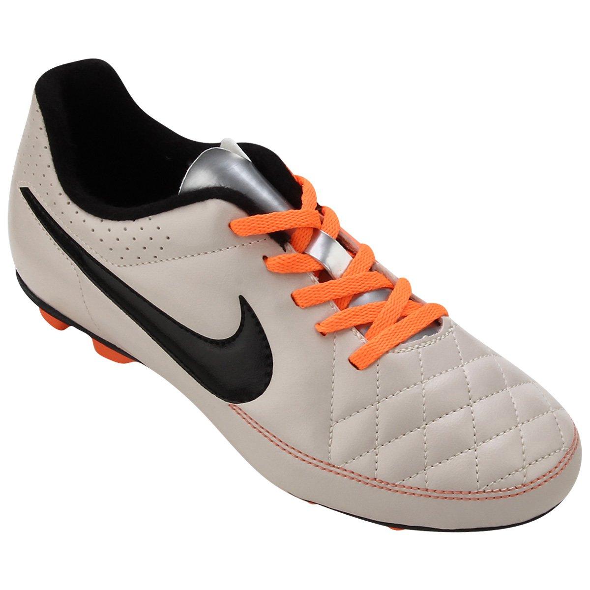 8953c56bb9 Chuteira Campo Infantil Nike Tiempo Rio 2 FG - Compre Agora