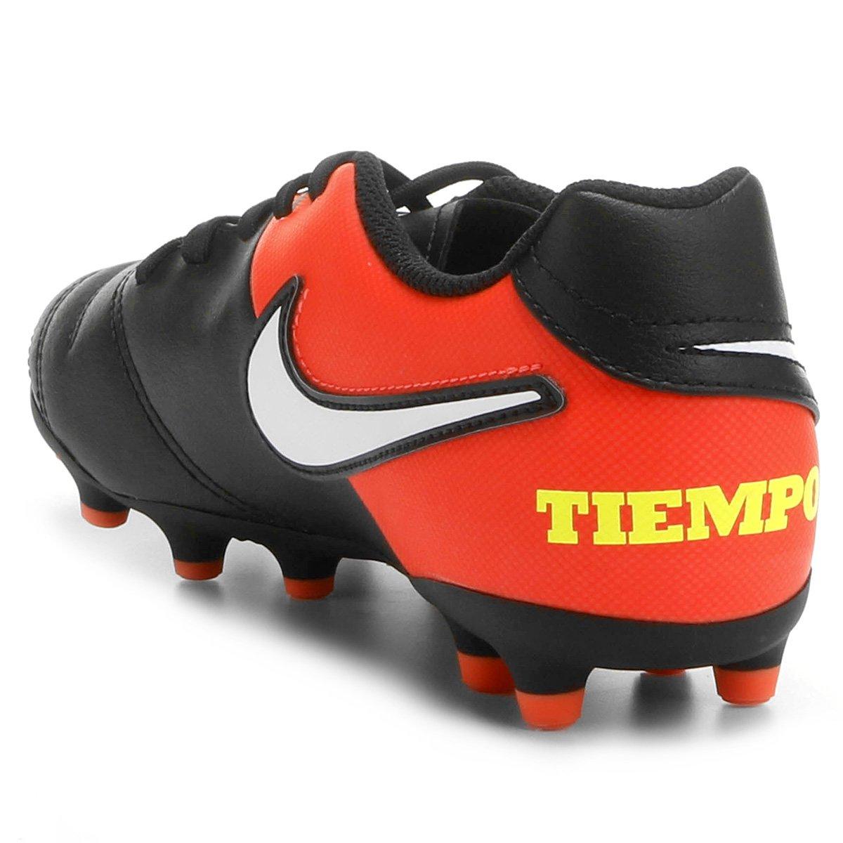 9566eaec4a Chuteira Campo Infantil Nike Tiempo Rio 3 FG - Compre Agora