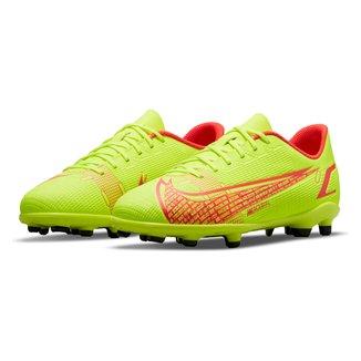 Chuteira Campo Juvenil Nike Mercurial Vapor 14 Club