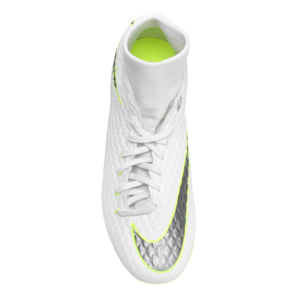 Campo DF Branco Nike FG Phantom 3 Chuteira Academy e Hypervenom Cinza Masculina d4n6YYz