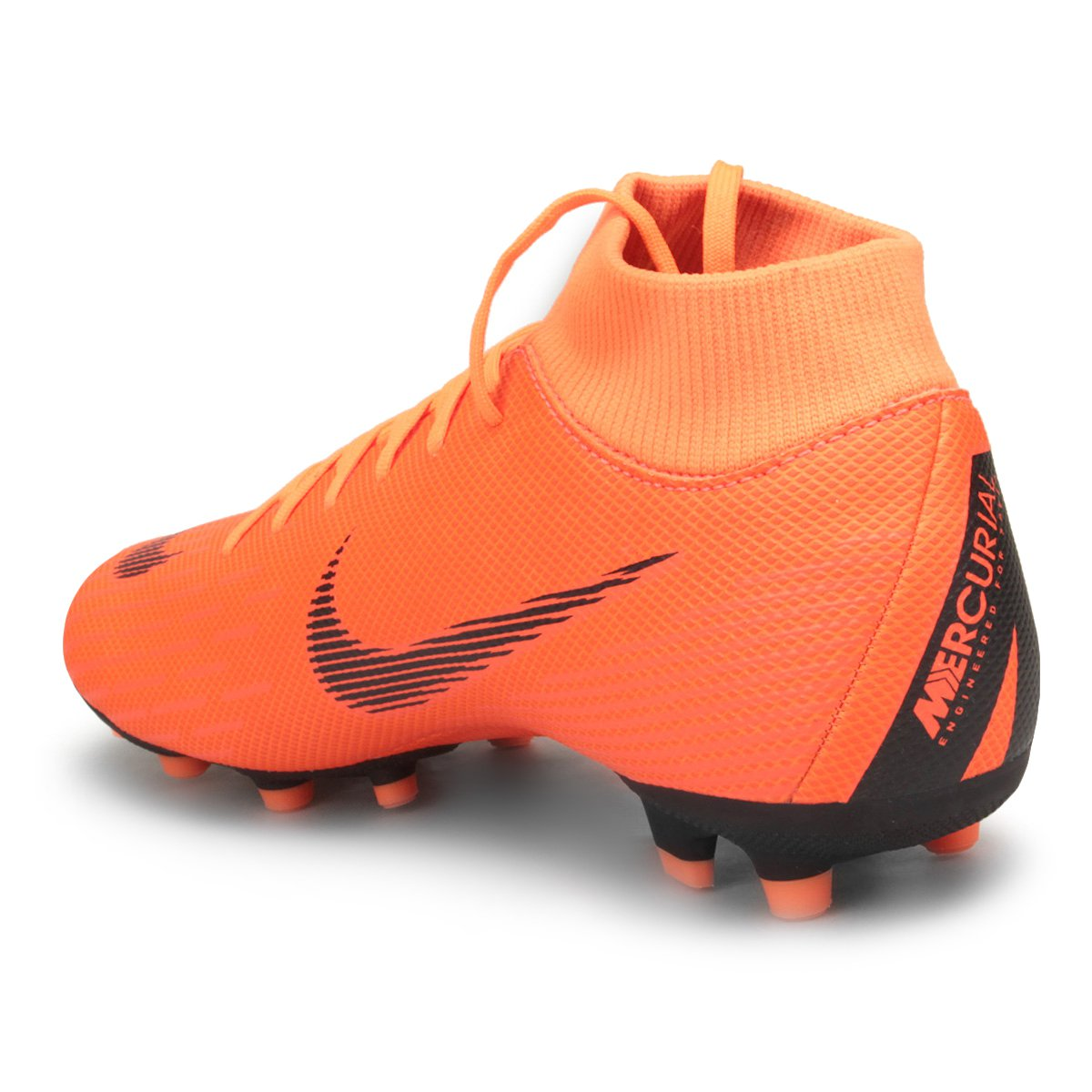 b83b87a904 Chuteira Campo Nike Mercurial Superfly 6 Academy - Laranja e Preto ...