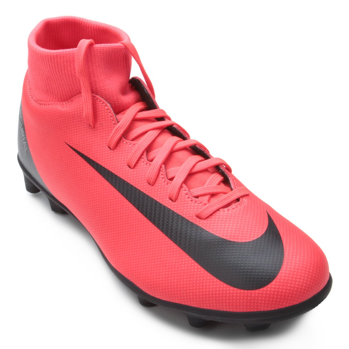 c006f0878d224 Chuteira Campo Nike Mercurial Superfly 6 Club CR7 MG - Vermelho e Preto -  Compre Agora