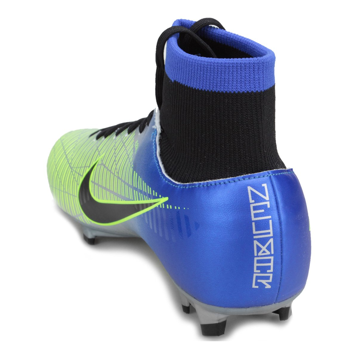 Nike Masculina Victory Campo FG Preto Neymar Mercurial e Azul DF Chuteira 6 Jr g4Tnzqw5wW