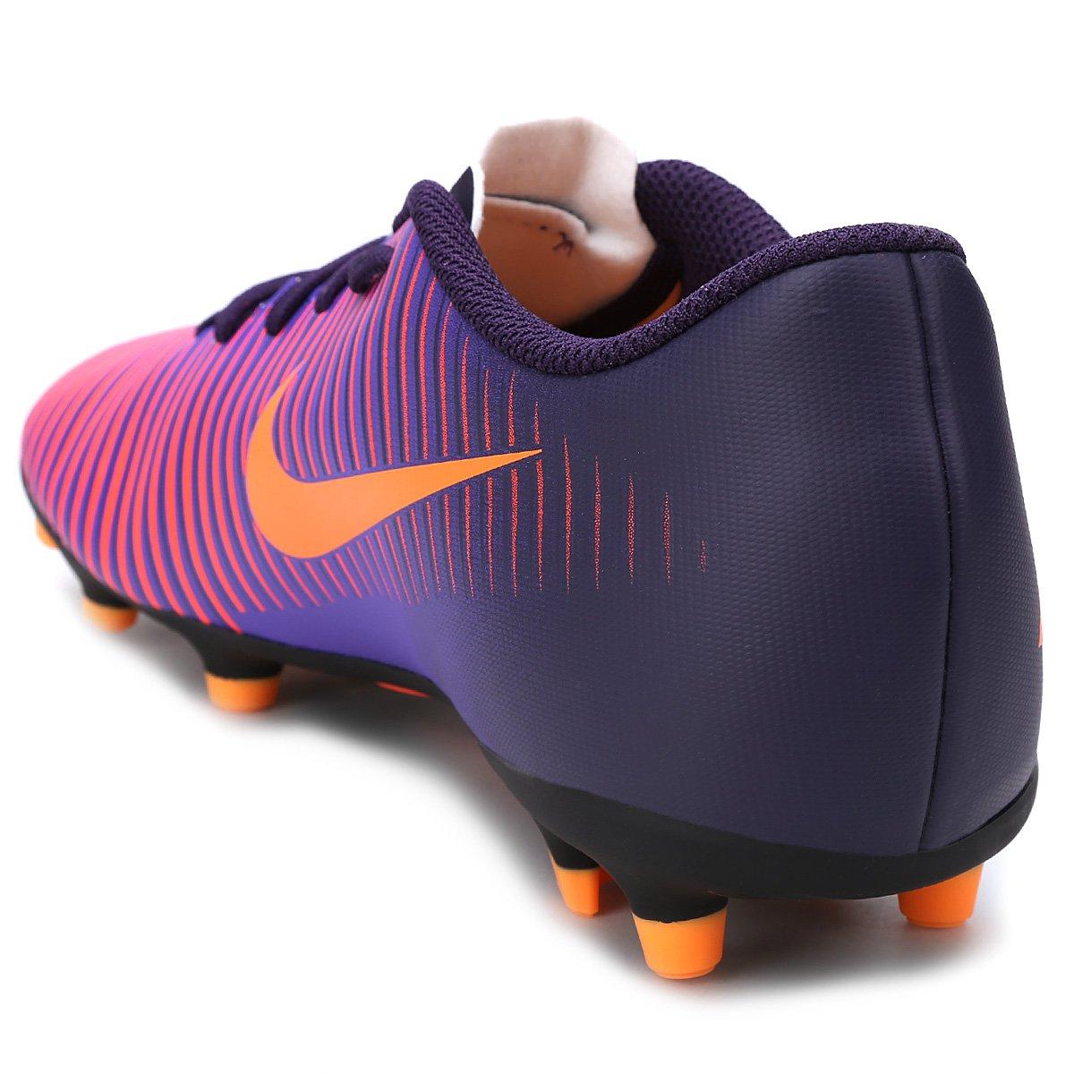 e058a69fae Chuteira Campo Nike Mercurial Vortex 3 FG - Roxo - Compre Agora ...