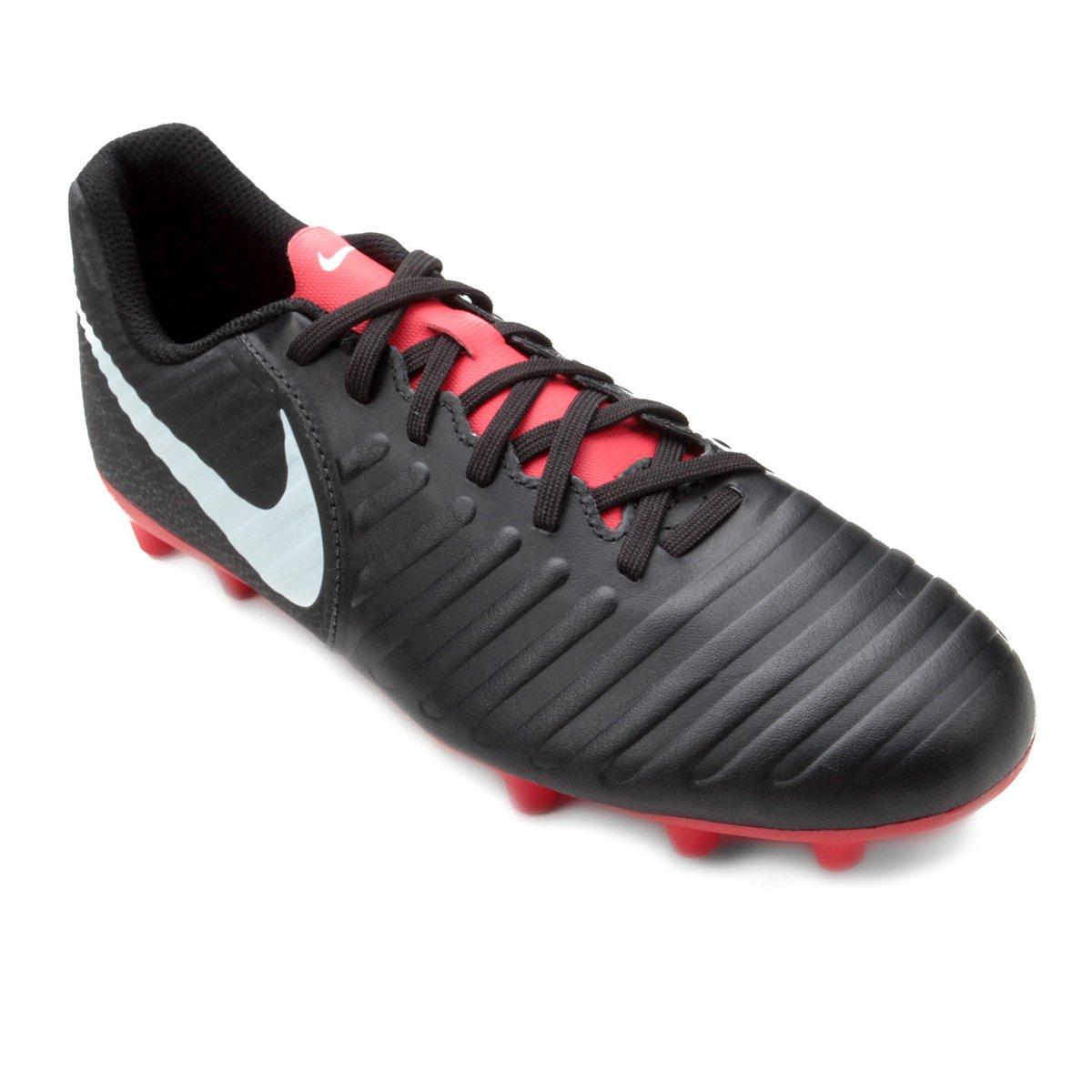 huge discount 1dee8 a157a Chuteira Campo Nike Tiempo Legend 7 Club FG - Preto