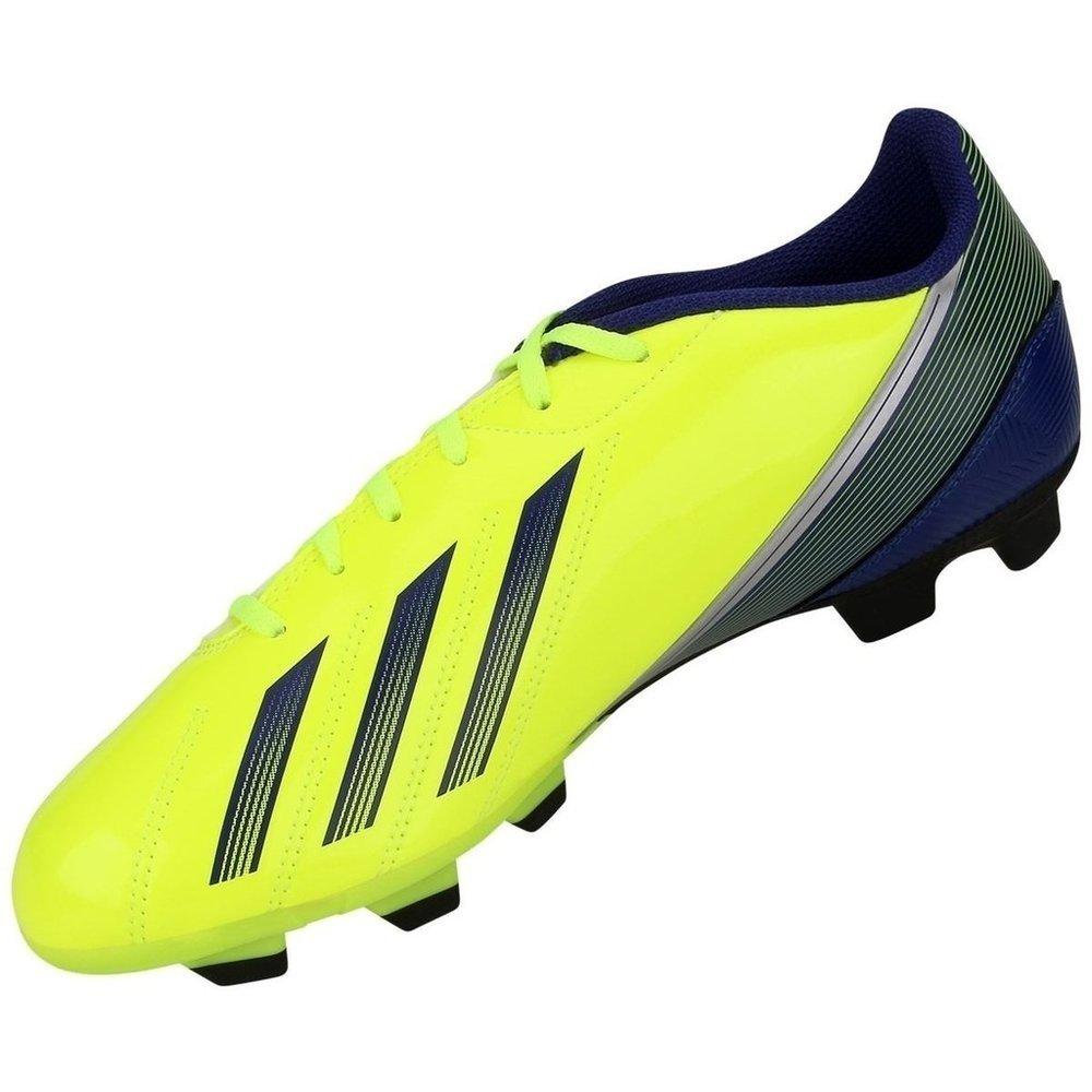 3aec90f61d Chuteira De Campo Adidas F5 Trx Fg - Amarelo E Preto - 43 - Compre ...
