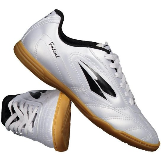 Chuteira Dray 802 Futsal Masculina - Prata