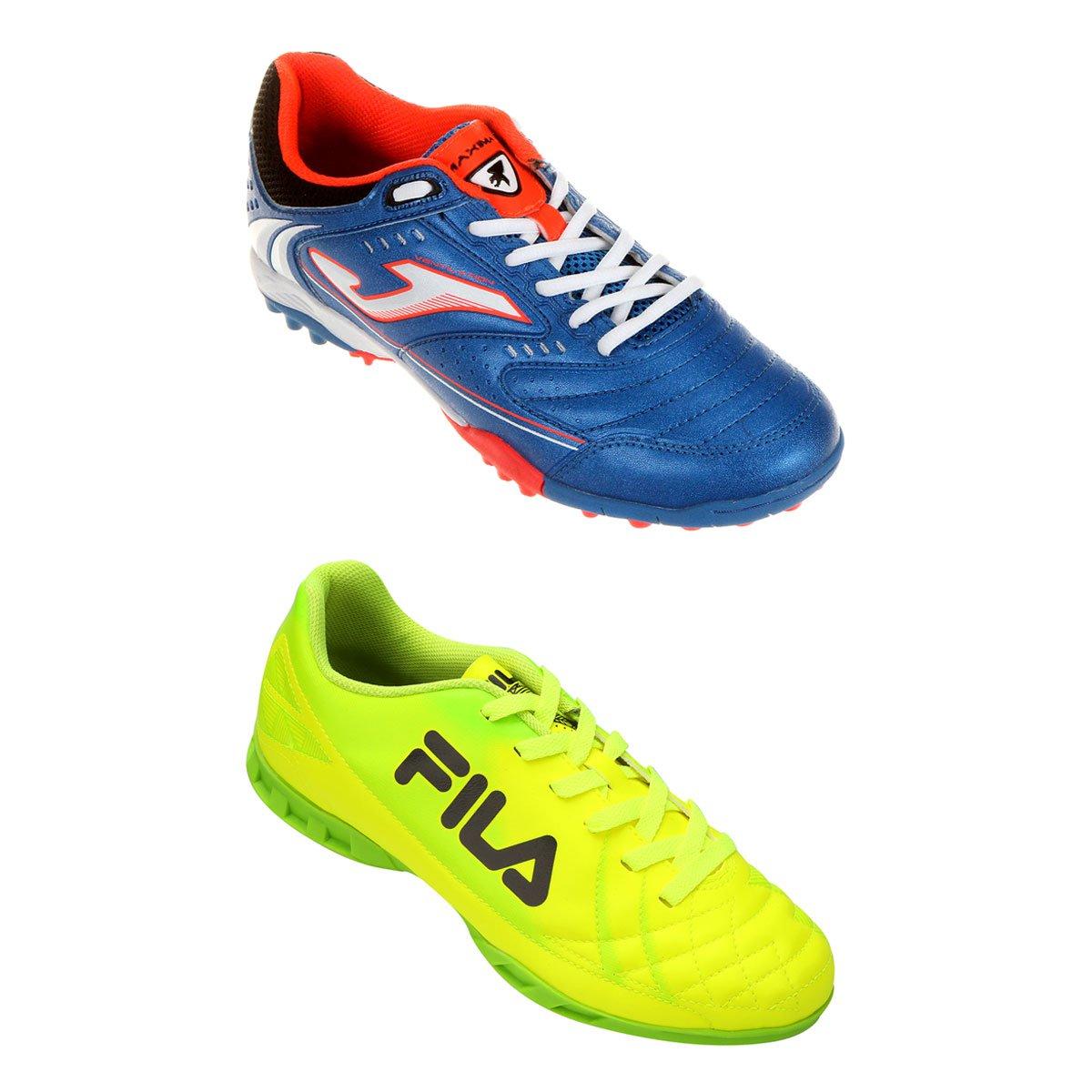 a6b75211e7 Chuteira Fila Classic Futsal + Chuteira Joma Maxima - Compre Agora ...