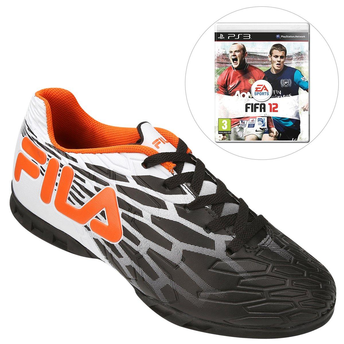 5560843a19ea5 Chuteira Fila Snap Futsal + Jogo FIFA Soccer 12 PS3 - Compre Agora ...