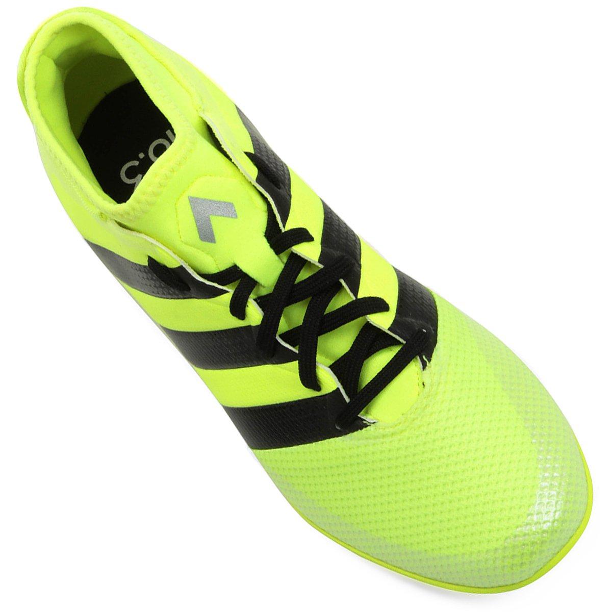 Chuteira Futsal Adidas Ace 16.3 Primemesh IN Masculina - Verde Limão ... c2eed282817d4