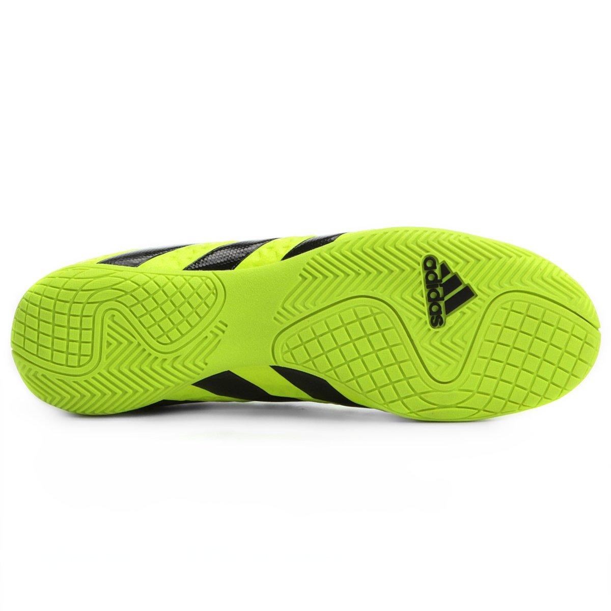 ... Preto Chuteira 4 Futsal Verde Adidas Limão Masculina Ace e IN 16 6v6qP  ... 937907eeb8c75