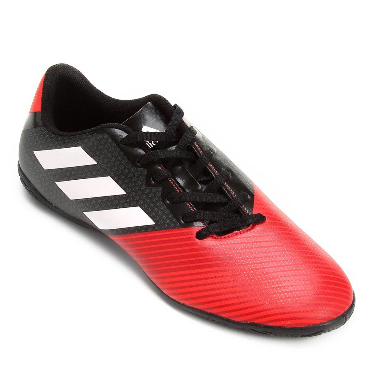 Chuteira Futsal Adidas Artilheira 17 IN - Preto e Vermelho - Compre ... 0d21f116aece1