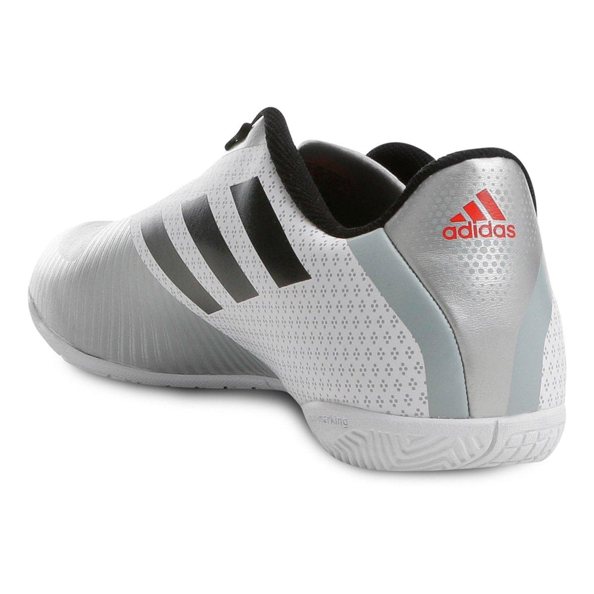 d8ec6bed5a Chuteira Futsal Adidas Artilheira 18 IN - Branco e Preto - Compre ...