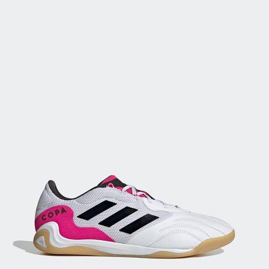 Chuteira Futsal Adidas Copa Sense 3 - Branco+Preto