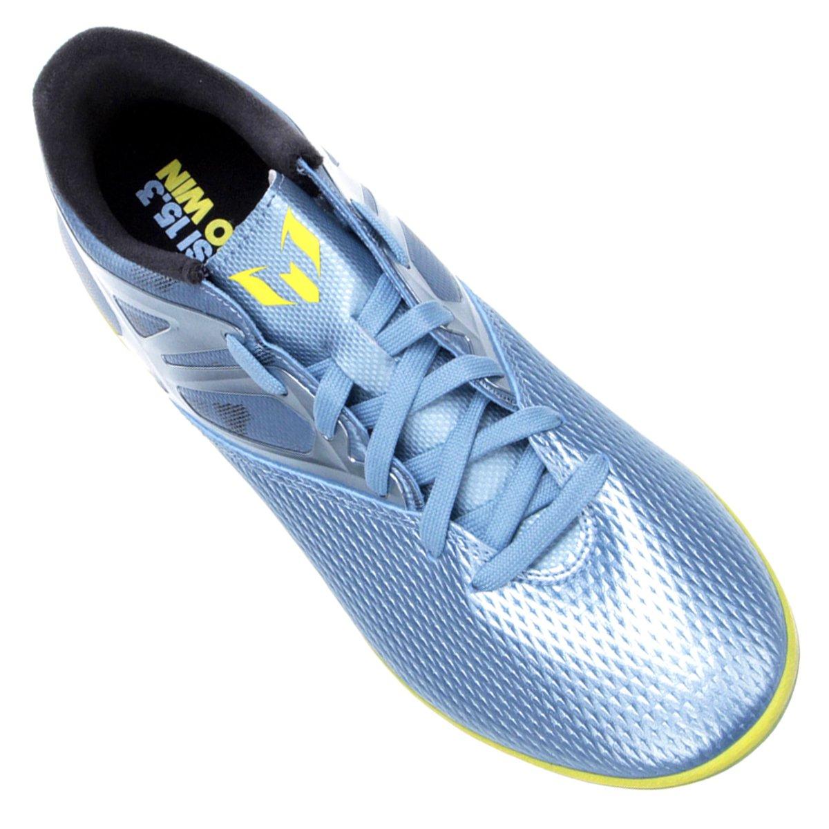 Chuteira Futsal Adidas Messi 15.3 IN Masculina - Compre Agora  c6261808e114d
