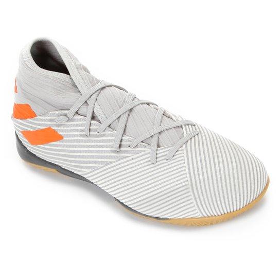 Chuteira Futsal Adidas Nemeziz 19 3 IN - Cinza