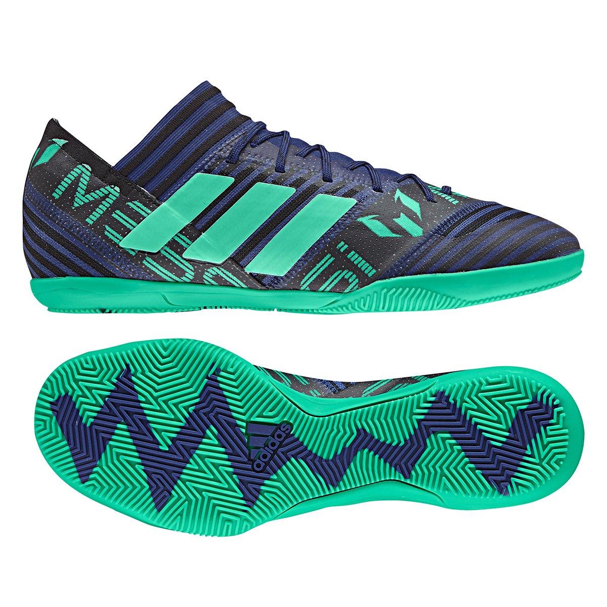 7346358cc051 Chuteira Futsal Adidas Nemeziz Messi 17.3 IN - Marinho e Preto - Compre  Agora