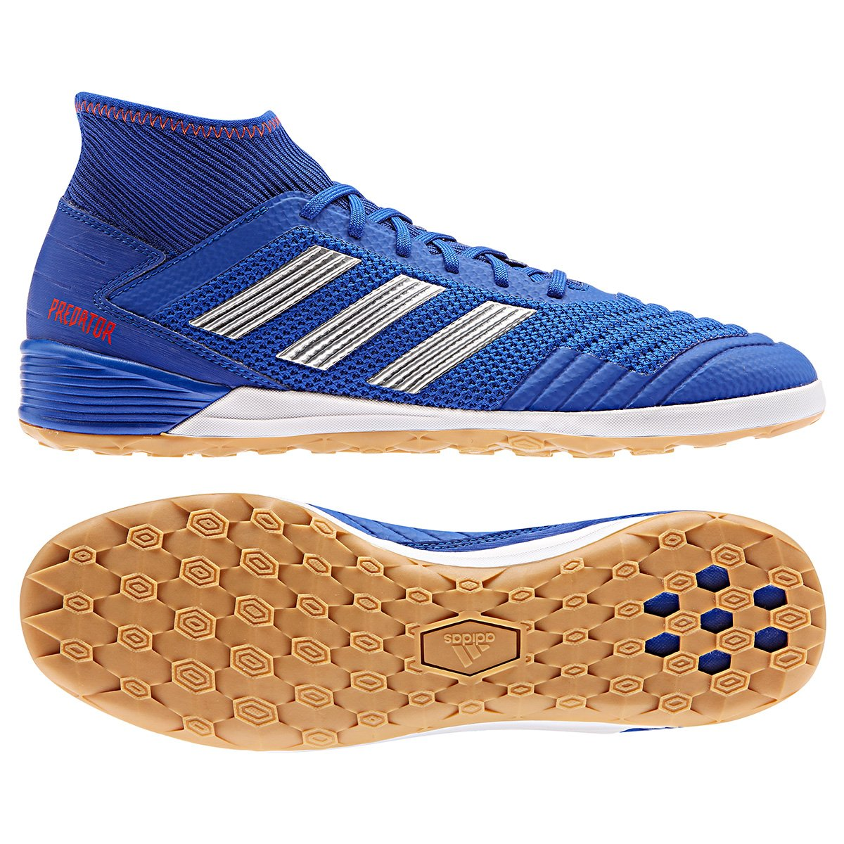 5d859a1166 ... wholesale chuteira futsal adidas predator 19 3 in azulprata 420ab 74799