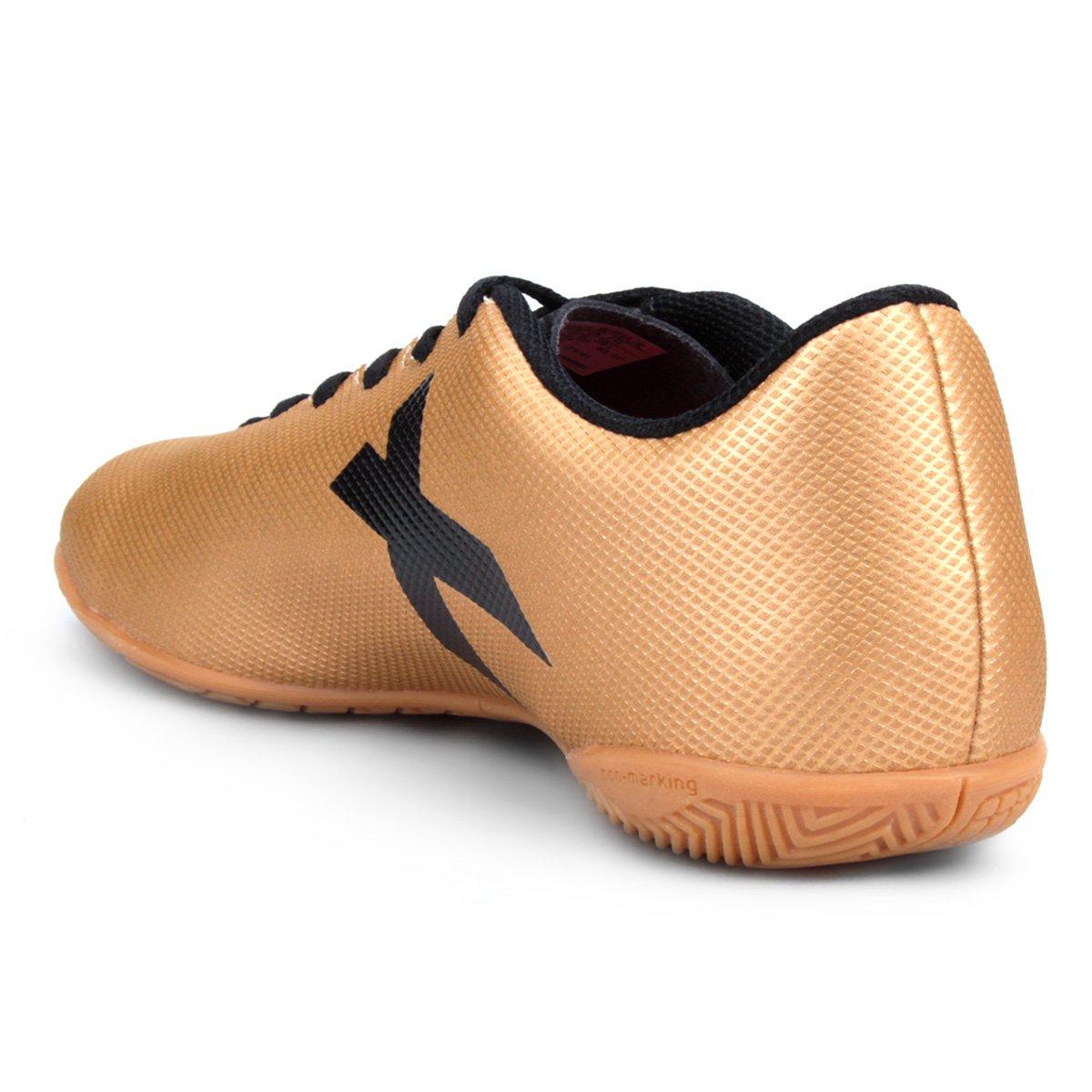 8e7c1e81d4 Chuteira Futsal Adidas X 17 4 In - Dourado - Compre Agora