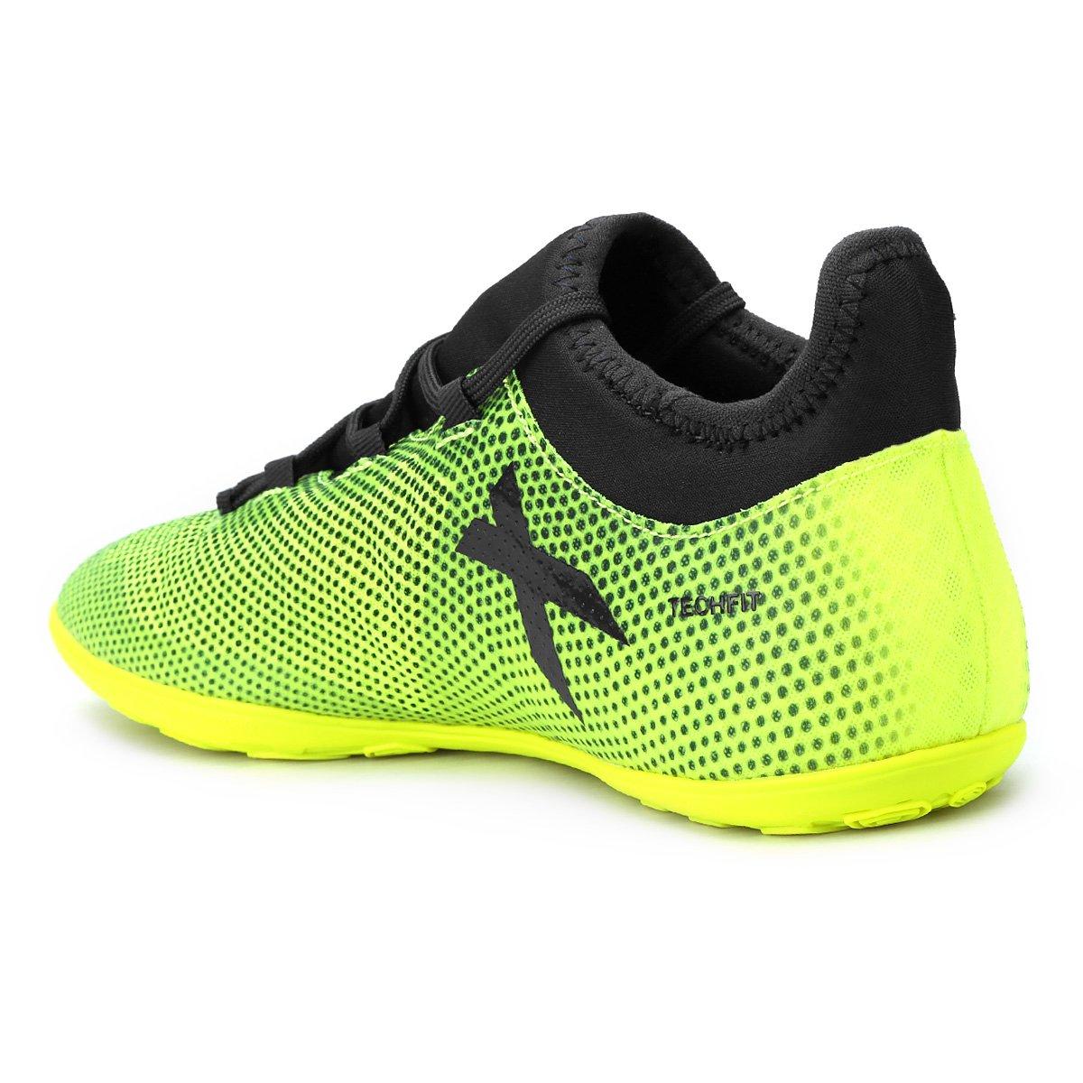 ... chuteira futsal adidas x 17.3 in masculina verde claro c5132610b11cb