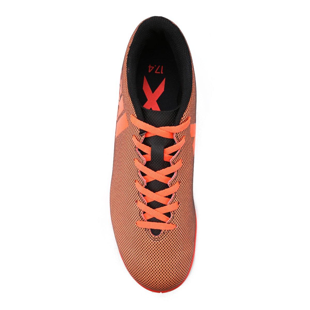 Futsal Chuteira X Adidas 17 IN Masculina Masculina X IN 4 Laranja 4 Laranja Adidas 17 Futsal Chuteira AwA4tqp