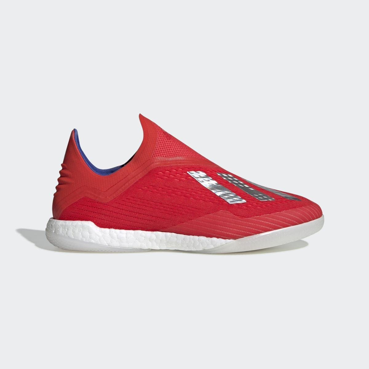 Chuteira Futsal Adidas X Tango 18+ - Vermelho