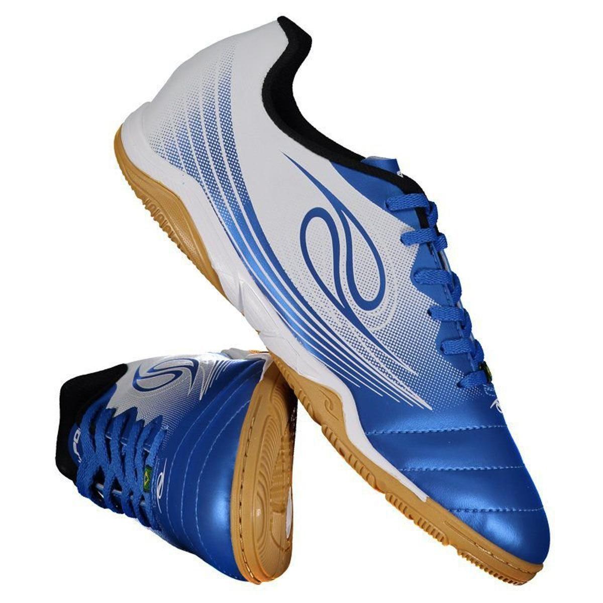 aeb5d6516d1 Chuteira Futsal Dalponte Squad Masculina - Azul - Compre Agora ...