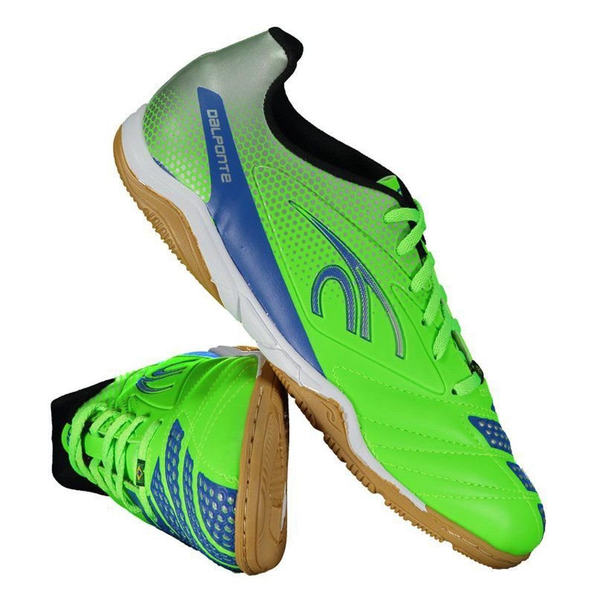 9a897a294bc0d Chuteira Futsal Dalponte Twister Masculina - Verde - Compre Agora ...