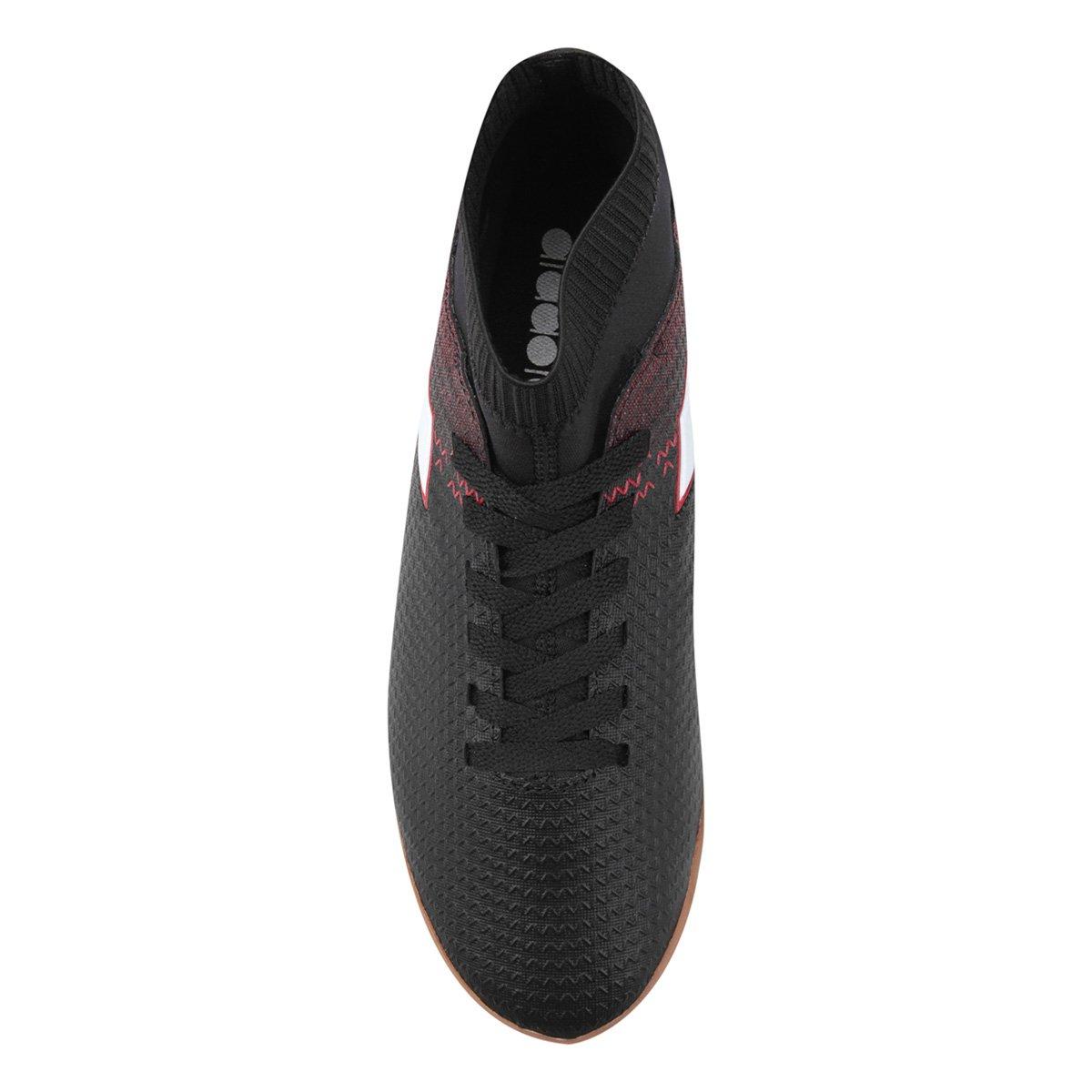 ... Chuteira Masculina Futsal Preto Slip Chuteira Diadora On Vermelho e  Futsal d6YExZqwd ... 079bbe58b14c7