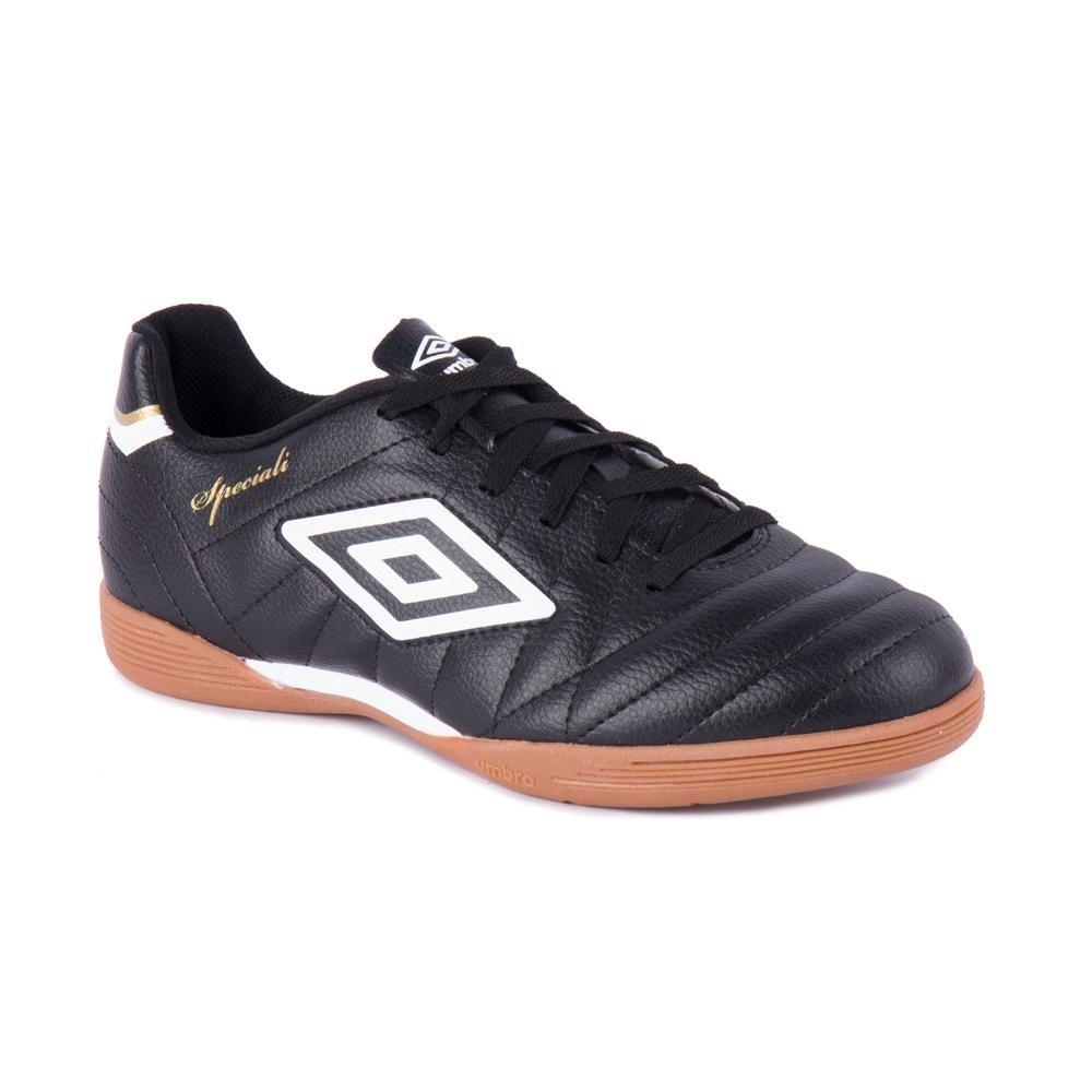 3e4cc021dd90a Chuteira Futsal Indoor Speciali Club - Umbro - Preto e Branco - Compre Agora