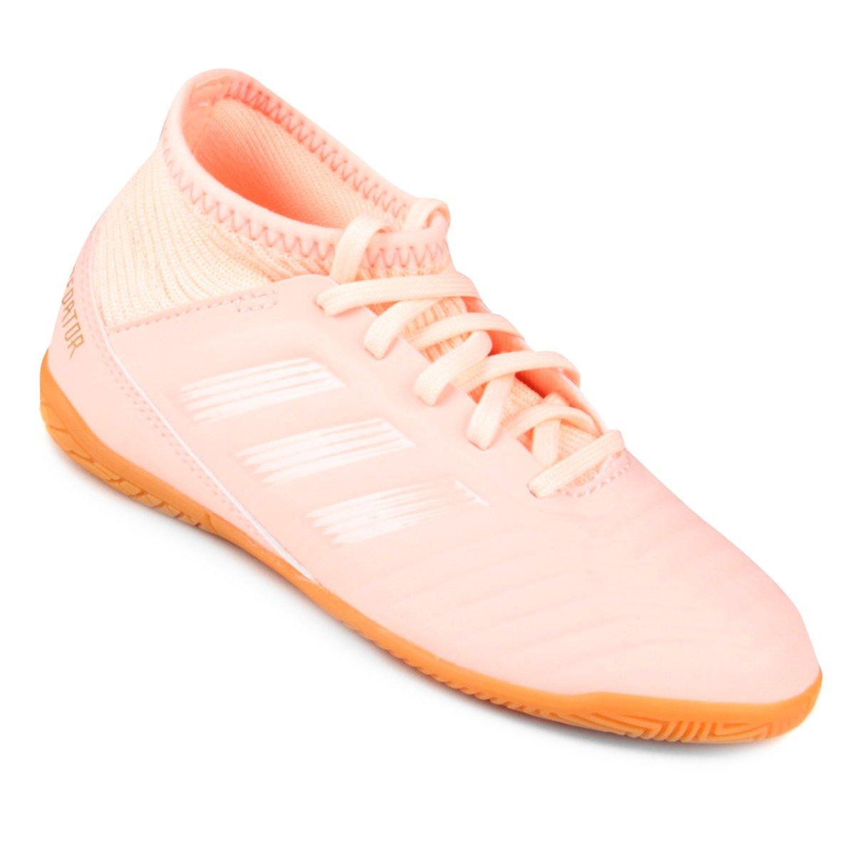 bae96e259e1cb Chuteira Futsal Infantil Adidas Predator 18 3 IN - Compre Agora ...