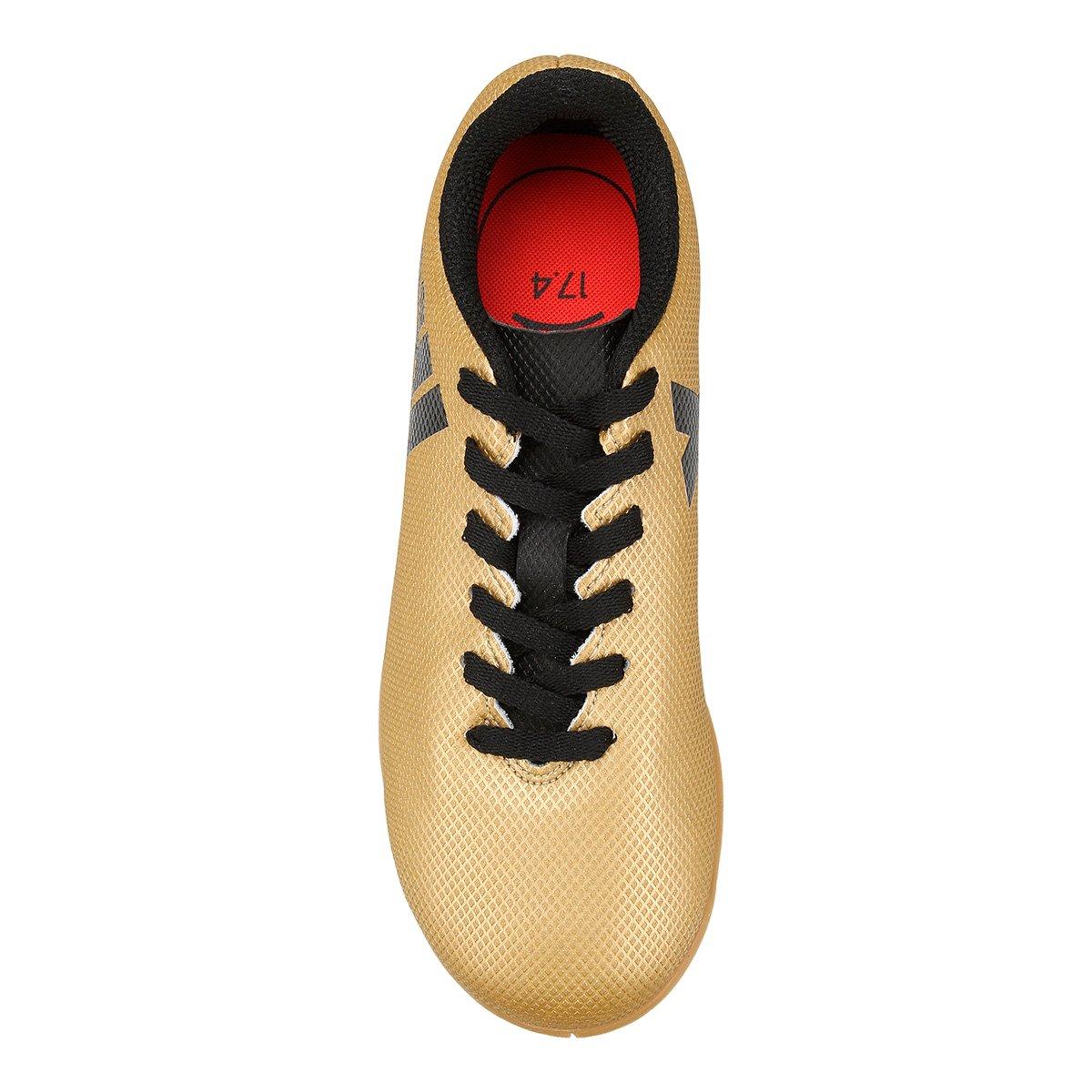8864255536 Chuteira Futsal Infantil Adidas X 17 4 IN - Compre Agora