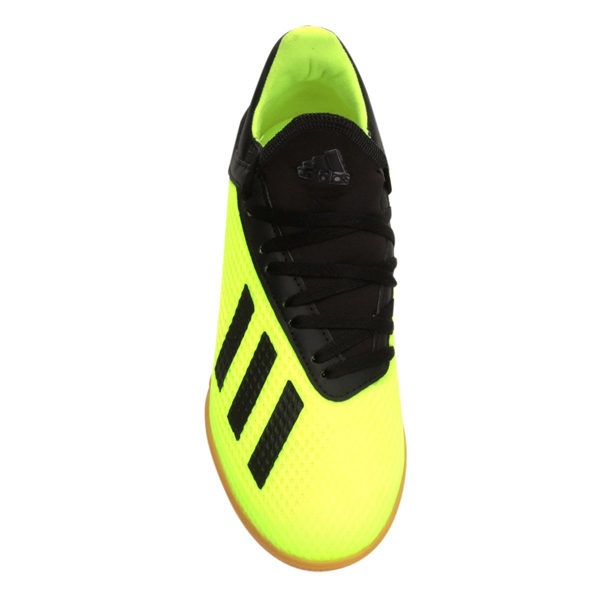 Chuteira Futsal Infantil Adidas X Tango 18 3 IN - Amarelo e Preto ... e5902279711ad