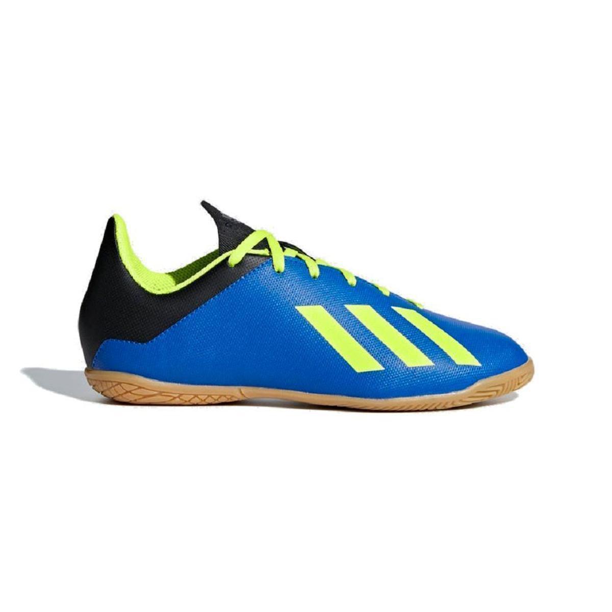 acaed48128b69 Chuteira Futsal Infantil Adidas X Tango 18 4 In - Azul e amarelo - Compre  Agora