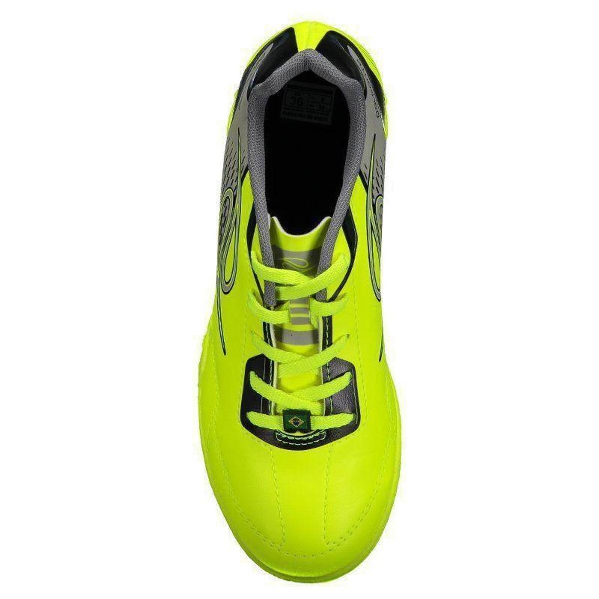Chuteira Futsal infantil Dalponte Class - Amarelo - Compre Agora ... 26b42cc3c0ae8