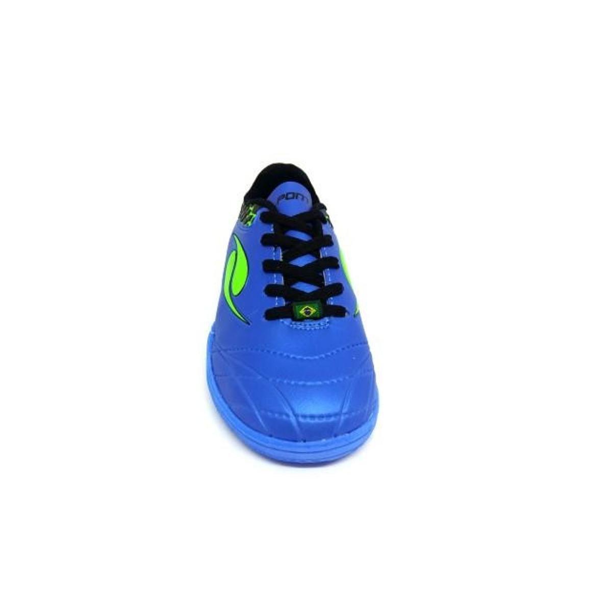 Chuteira Futsal infantil Dalponte Eletric - Azul - Compre Agora ... 7ea25bf079803