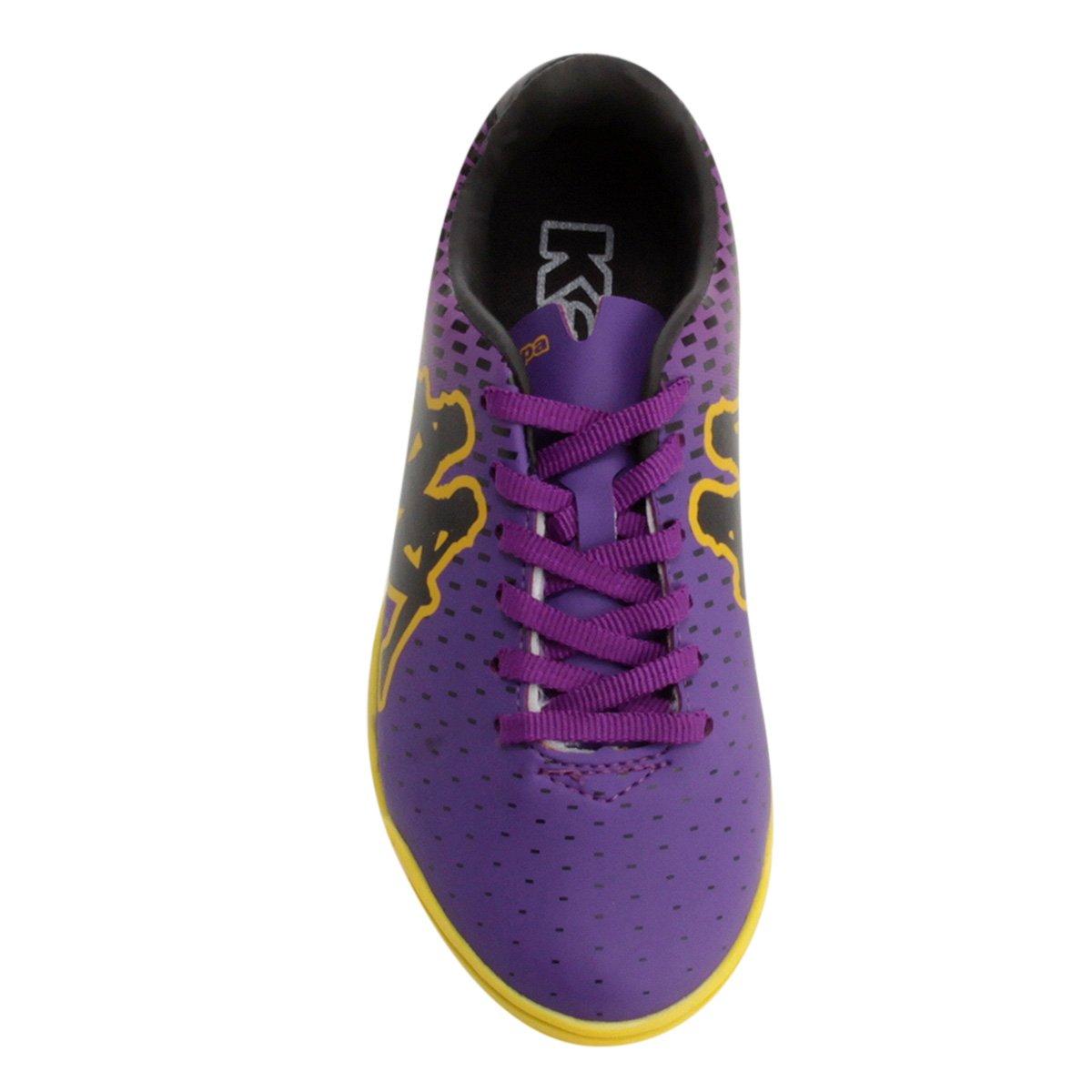 abeb027b80 Chuteira Futsal Infantil Kappa Lanzo - Compre Agora