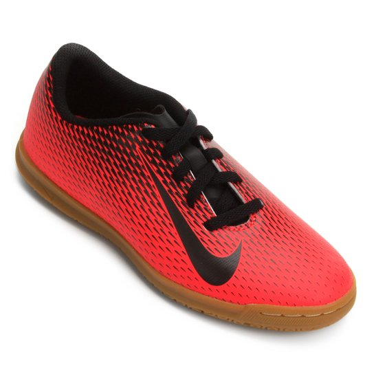 Chuteira Futsal Infantil Nike Bravata 2 IC - Vermelho