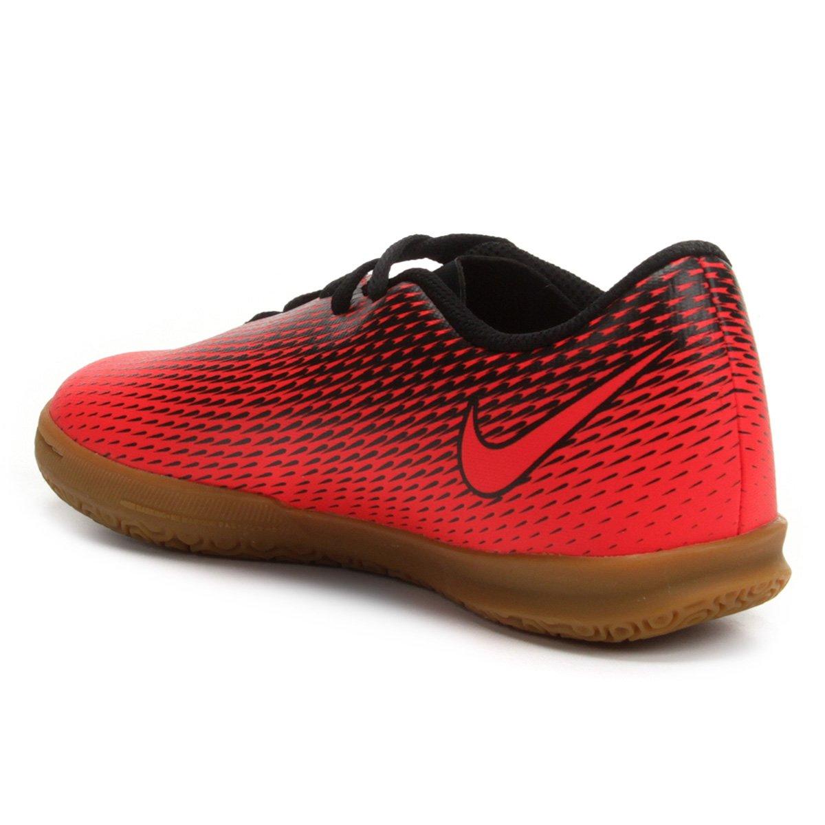 377f8fb9ed Chuteira Futsal Infantil Nike Bravata 2 IC - Vermelho - Compre Agora ...