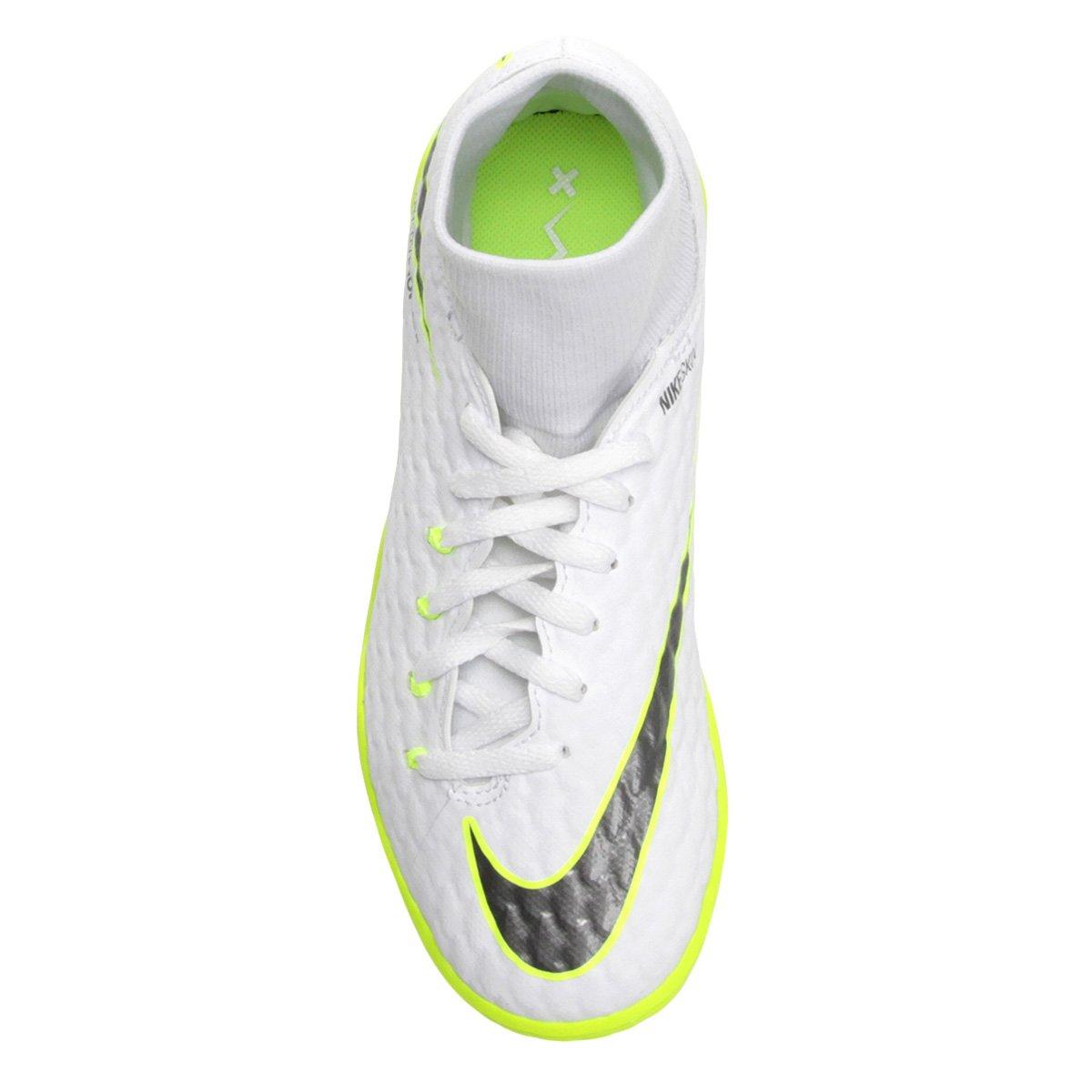 Chuteira Futsal Infantil Nike Hypervenom Phantom 3 Academy DF IC ... 9e755c3082679