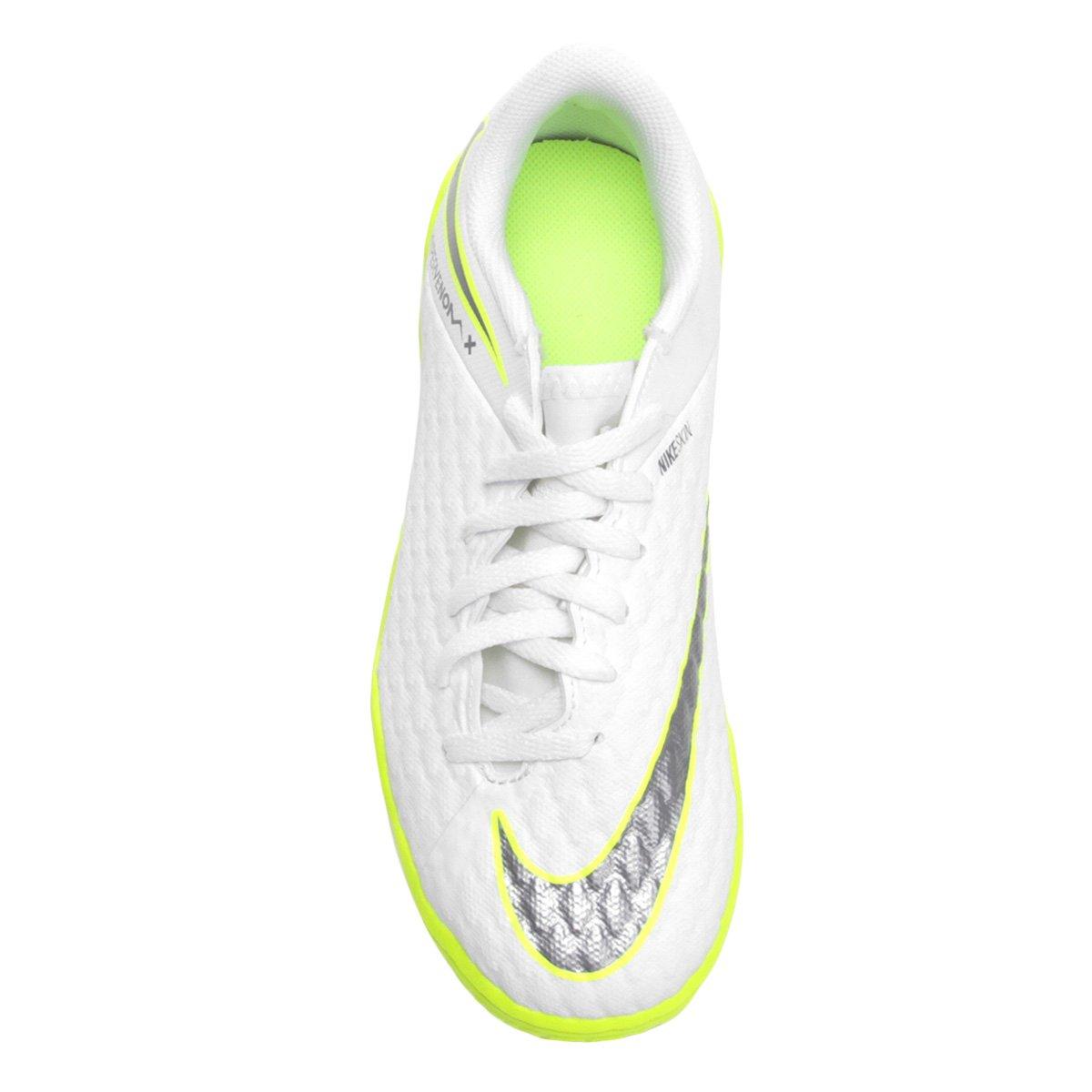 Chuteira Futsal Infantil Nike Hypervenom Phantom 3 Academy IC ... 5a8ac97877f74