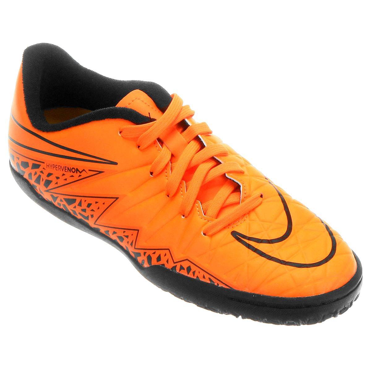 2c915fd71112c ... get o produto chuteira futsal infantil nike hypervenom phelon 2 ic  laranja e preto acabou.