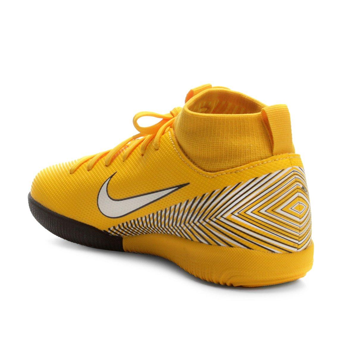 a0ff9e1b04 Chuteira Futsal Infantil Nike Mercurial Superfly 6 Academy - Amarelo ...