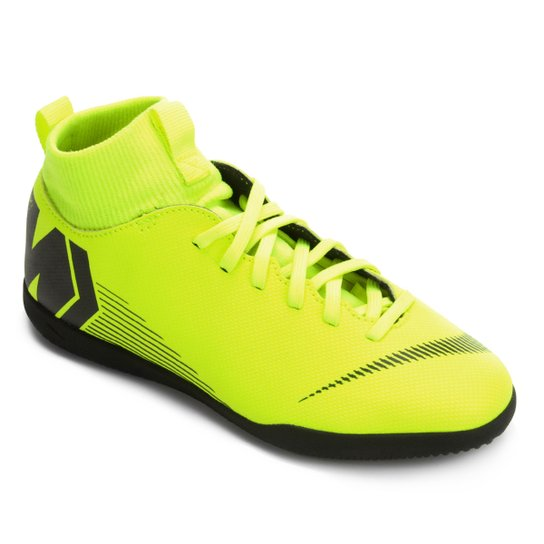 Chuteira Futsal Infantil Nike Mercurial Superfly 6 Club - Amarelo+Preto