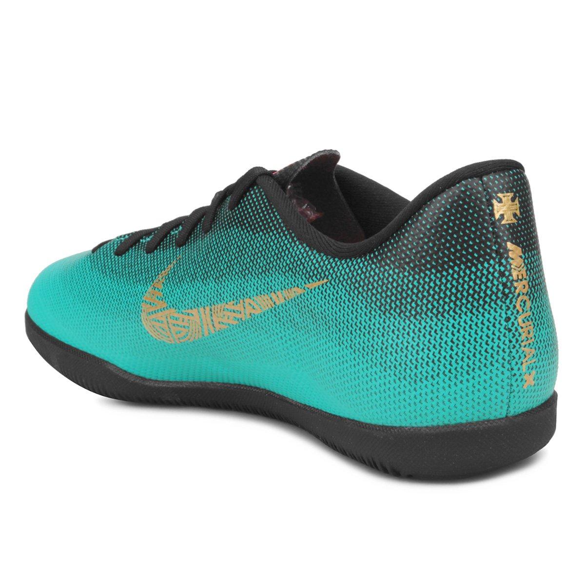 fe175937efb79 Mercurial Nike Club Infantil Ic Vapor Chuteira Futsal Cr7 Gs 12 pTatx4qn