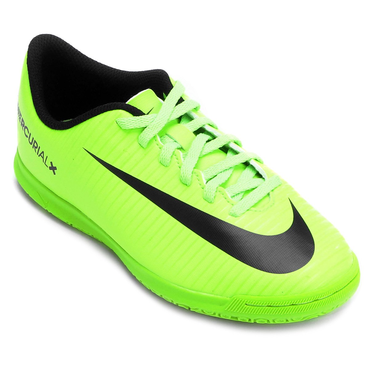 632cfea09f33e Chuteira Futsal Infantil Nike Mercurial Vortex 3 IC - Verde Limão - Compre  Agora