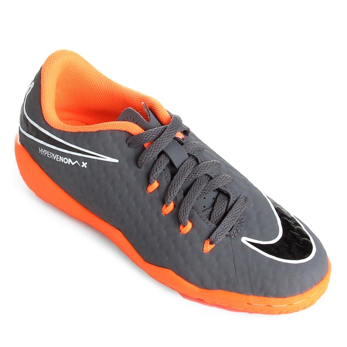 19f21c1e34dbb Chuteira Futsal Infantil Nike Phantom 3 Academy IC Compre Agora